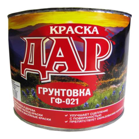 Грунтовка ГФ-021 красно-коричневый 2,5 кг ДАР