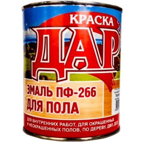 Эмаль ПФ-266 золотисто-коричневая 25 кг ДАР