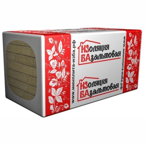 Мин.ват.плита ИЗБА СУПЕР ЛАЙТ-30(1000*600*50)(0,24)