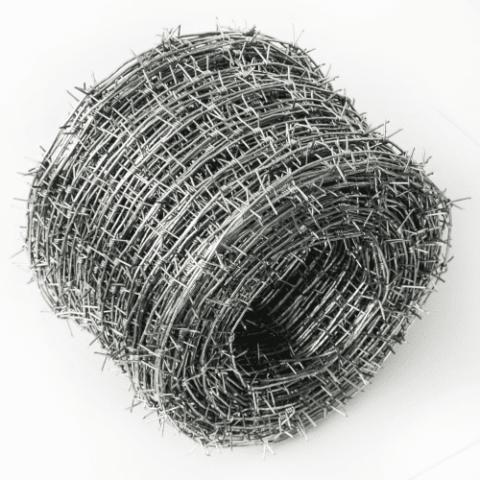 Проволока колючая оцинкованная d-2,5 Нуртау-А (200м)